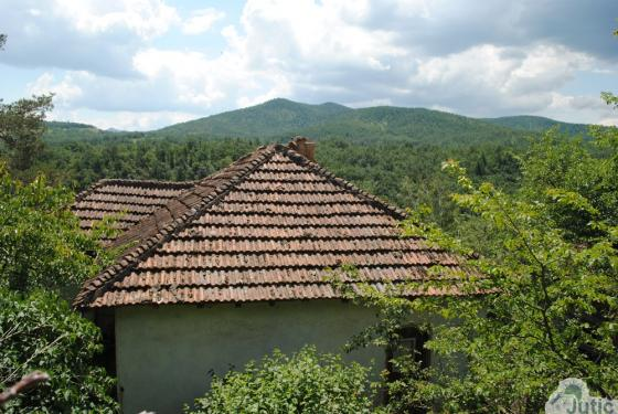 House with Balkan mountains view